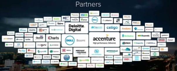 NetSuiteのビジネスパートナー群