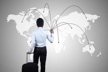 国内企業の海外進出動向について