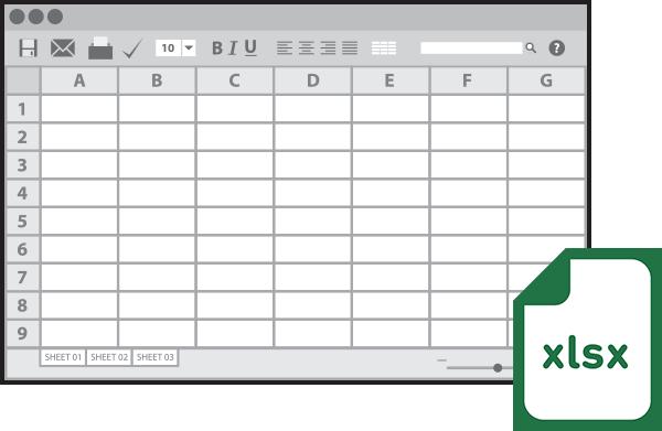 商品別在庫管理テンプレート(Excel形式)